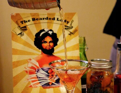 Liz's Cocktail Corner: The Bearded Lady