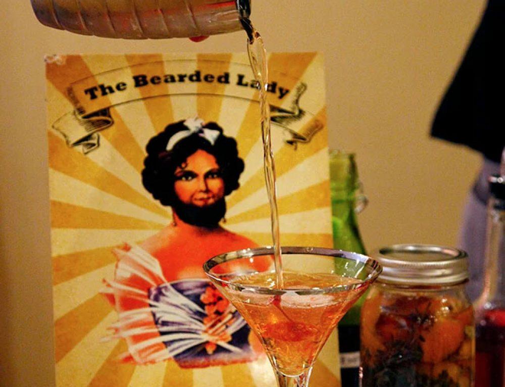 Liz's Cocktail Corner: The Bearded Lady